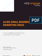 30 Big Small Business Marketing Ideas