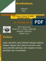 Ppt Refrat Radiologi Bronciectasis