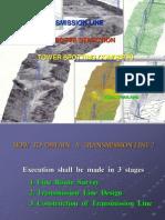 TRANSMISSION LINE LINE ROUTE SELECTIONLINE ROUTE SELECTIONTOWER SPOTTING CONCEPTSTOWER SPOTTING .pdf