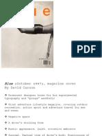 Leading Graphic Designers (presentation) by Zheng Jiayin