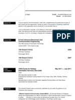 Sample Resume (5)