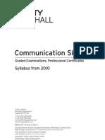 Communication Skills Syllabus, 2nd Edition