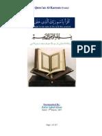 Translation of Quran