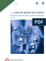 Politique de la confédération en matière de gestion des risques (pdf).pdf