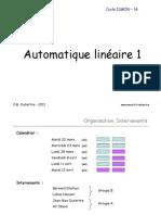 Slides Cours Automatique 1A 2010 Pour PDF
