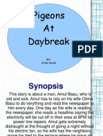 Pigeons at DayBreak (Gender and Literary criticism)