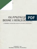 Islamizacija Bosne i Hercegovine i porijeklo-bosansko-hercegovačkih muslimana Mehmed Han