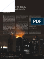 Article on 'Fire Safety in High Rise Buildings' by Chaitanya Raj Goyal