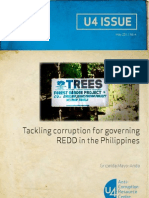 Tackling Corruption for Governing Redd in The