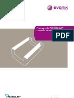 Formage de Plexiglas