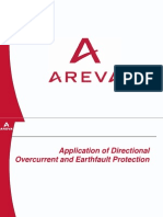 Application of Dir. OC + EF Protn-AREVA
