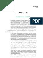 Psihologie lectia 49 + 50