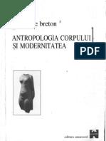 David Le Breton-Antropologia Corpului