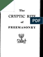 29375969 Cryptic Rite of Freemasonry
