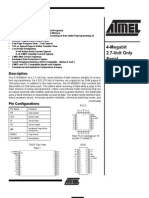 Atmel 45db041 4mb Serial Data Flash