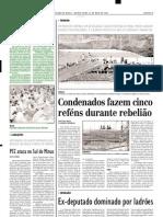 2003.05.22 - Carregamento de Galinhas Saqueado - Estado de Minas