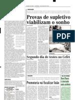 2003.07.20 - Dom Mauro é internado após acidente - Estado de Minas