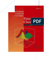 Computer Manual in Pattern Classification