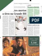 2003.09.15 - Três pessoas carbonizadas - Estado de Minas