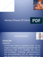 Phases of Clin Trial