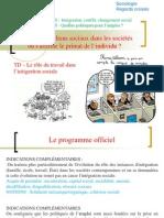 TD intégration par le travail