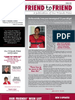 2009 OFP Spring Friend to Friend Newsletter
