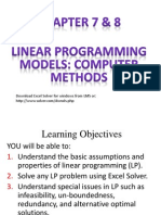 Linear Programming on Computer_Ch78