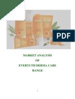 20204288 Market Analysis of Everyuth Derma Care Range
