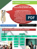 Tecnicas e Instrumentos de Eval.