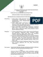 Permen LH 15 Th 2012 Panduan Valuasi Ekonomi Ekosistem Hutan
