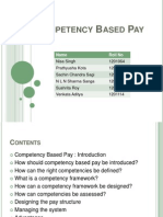 Competency Based Pay