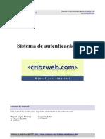 Sistema de Autenticacao Php