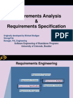 Requirements Analysis&Requirements Specification