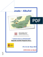Reunión núm 2. Granada - Albuñol