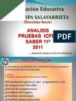 Analisis Saber 11 2011 Policarpa