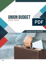 Union Budget 2013-14 - Highlights and Analysis