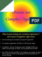 human as complex organism
