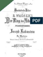 Rubinstein Josepph - Wotans Zorn Und Abschied Von Brunnhilde