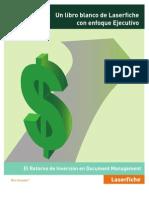 El Retorno de Inversion en Document Management