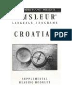 Croatian - Reading Booklet