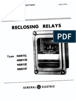 GE Reclosing Relay