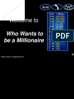 Who Wants to Be a Millionaire - Catherine Year 3