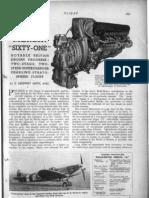 Rolls Royce Merlin 61 Engine
