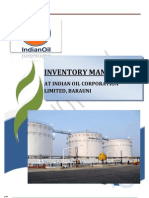 61425849 BIPUL KUMAR Inventory Managment in Iocl Barauni Refinery