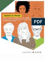 Dossier de Presse EuropaCity- Avril 2013