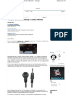 Receptor de señal IR con PC