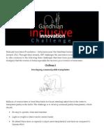 Gandhian Awards 14.5
