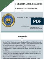 Universidad Central Del Ecuador Arquitecto Peresz Ramiro