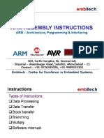 Arm Instruction Set Part1