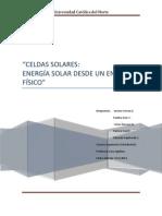 Informe Celdas Solares